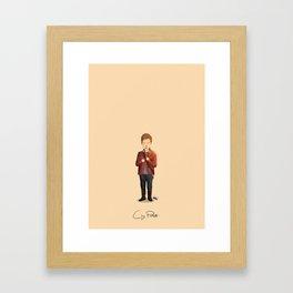 Chris Pratt - Guardians of the Galaxy Framed Art Print