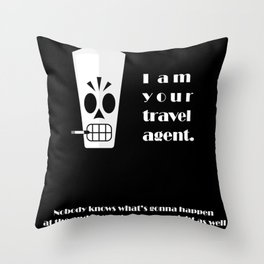 Grim Fandango - Manny Calavera Throw Pillow
