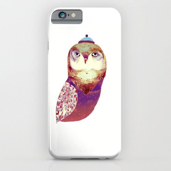 Purple Owl iPhone & iPod Case