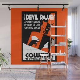 The Devil Passes Wall Mural