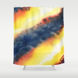 Shock Front Shower Curtain