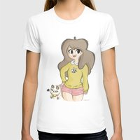 puppycat T-shirts featuring Bee and Puppycat by Lyndie Witt