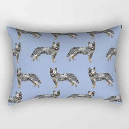 Australian Cattle dog must have gifts for cattle dog owners dog breed pet friendly unique dog art Rectangular Pillow
