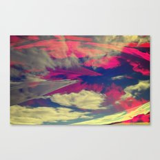Signs in the Sky Collection - Visions Canvas Print
