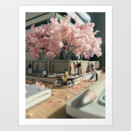Spring's in the air Art Print