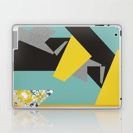 bee' flower geometric Laptop & iPad Skin