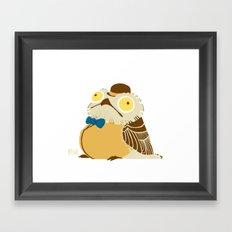 A Fancy Potoo Framed Art Print