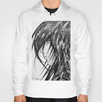 no face Hoodies featuring Face by rchaem