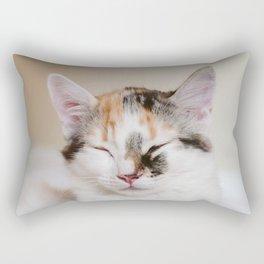 Sleepy cat (II) Rectangular Pillow