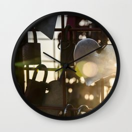 Unchain my Heart Wall Clock
