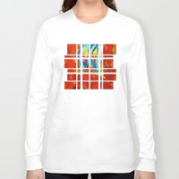 gemini Long Sleeve T-shirts featuring Gemini by SteeleCat