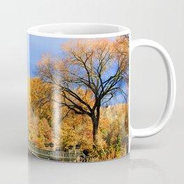 Bow Bridge in Autumn Coffee Mug