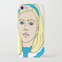 mad men iPhone & iPod Cases featuring Sally Draper - Mad Men by Aishling K
