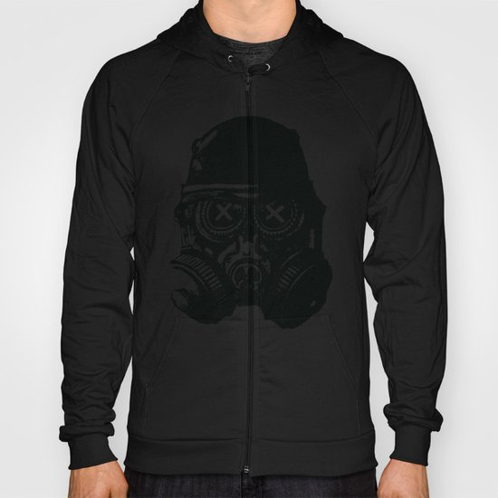 Gas mask skull Hoody