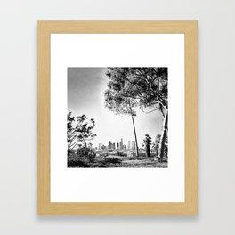 Downtown L.A. Framed Art Print