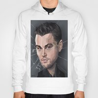 leonardo dicaprio Hoodies featuring DiCaprio Caricature by Stevie Ray Thompson