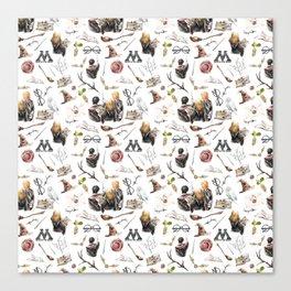 HP Pattern Canvas Print