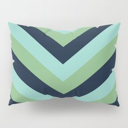 v lines - lake Pillow Sham