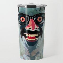 Portrait of Alonso Quijada Travel Mug