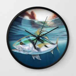 Cabo Rooster Wall Clock