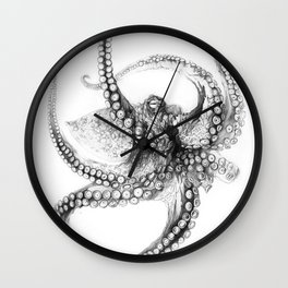 Giant Octopus Wall Clock