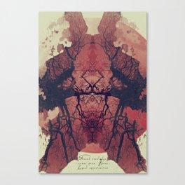 THE UNEXPLORED Canvas Print