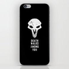 Death Walks iPhone & iPod Skin