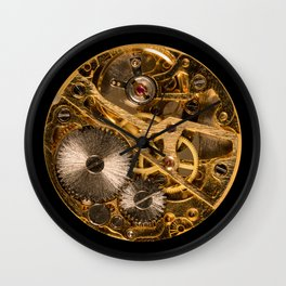 Time is passing by - antique watch Wall Clock