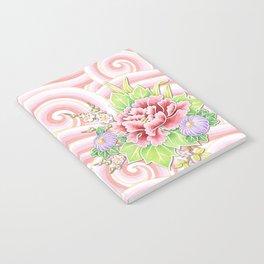 Pink Kimono Bouquet Notebook
