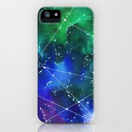 Deep in space iPhone Case
