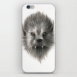 Werewolf beast iPhone Skin