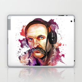 Cossack Ivan Sirko listen music Laptop & iPad Skin