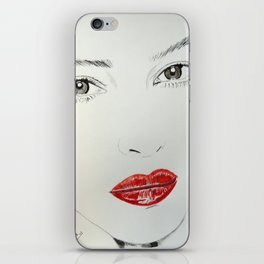 Monica Bellucci iPhone Skin