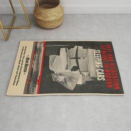 Vintage poster - New Haven Railroad Rug