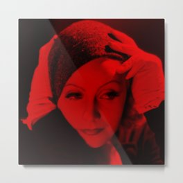 Greta Garbo - Celebrity (Photographic Art) Metal Print