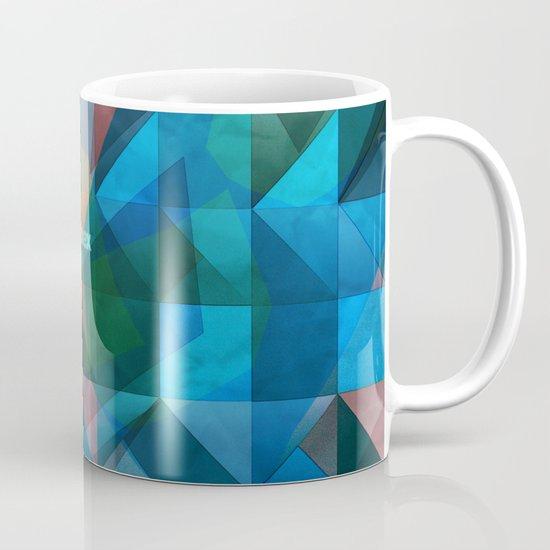 triangular shapes of power Mug
