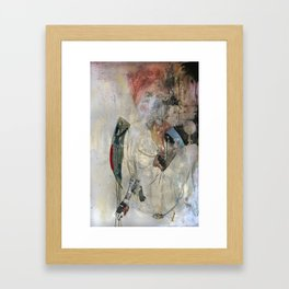Women who run with wolves I. Baba Jaga Framed Art Print