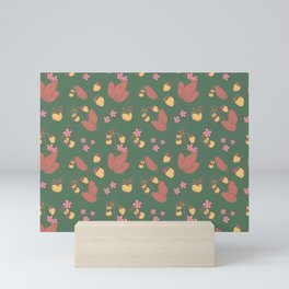 Wild Strawberries - Forest Mini Art Print
