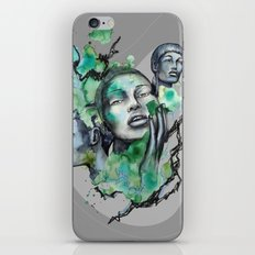 COSMOPOLITAN by carographic, Carolyn Mielke iPhone & iPod Skin