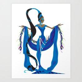 Yemaya Art Print