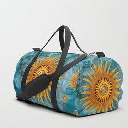 """""""Saturn mandala celestial vault"""" Duffle Bag"""