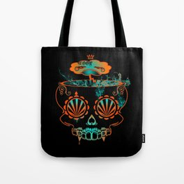 Candy skull  Tote Bag