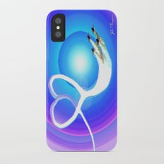 Love from above Slim Case iPhone X