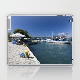 Corfu Fishing Boat Laptop & iPad Skin