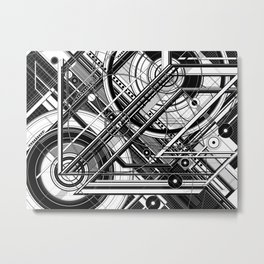 J.36 Metal Print