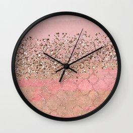 Pink Moroccan Princess Wall Clock