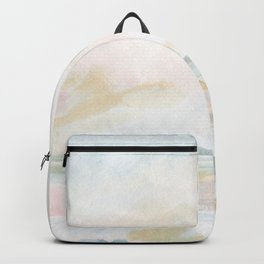 Golden Hour - Pastel Seascape Backpack