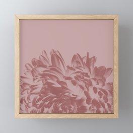 Dusty Pink Positive Negative Framed Mini Art Print
