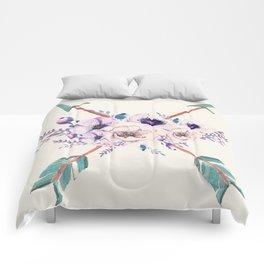 Floral Arrows Comforters