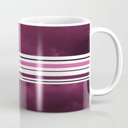 Intermittent sunset in purple Coffee Mug